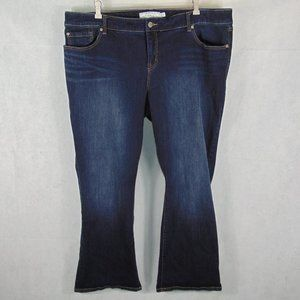 Torrid Relaxed Bootcut Dark wash jeans + size 24R